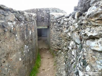 Frente Agua-Yacimiento Arqueológico Guerra Civil Española; lagos enol y ercina excursiones en autoca